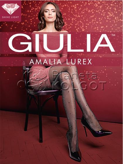 Giulia Amalia Lurex 20 Den Model 1 женские колготки с фантазийным узором