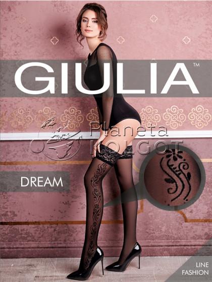 Giulia Dream 40 Den Model 1 женские чулки с фантазийным узором