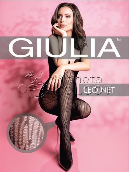 Giulia Leo Net 40 Den Model 2 женские фантазийные колготки с тигровым принтом