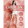 Giulia Like 20 Den женские классические тонкие колготки с уплотненными шортиками