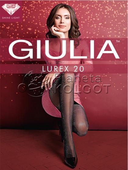 Giulia Lurex 20 Den женские фантазийные колготки с добавлением люрекса
