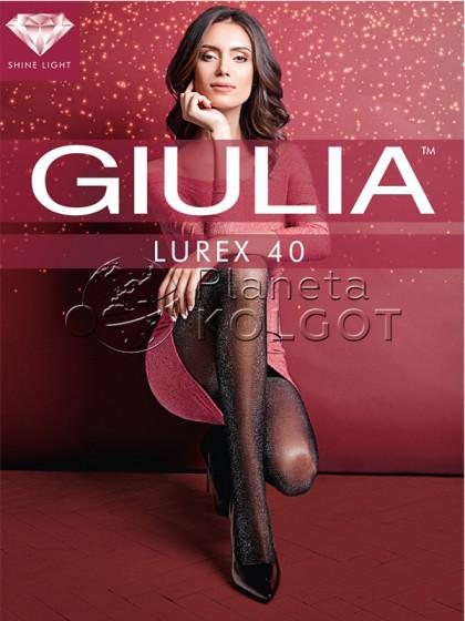 Giulia Lurex 40 Den женские фантазийные колготки с люрексом