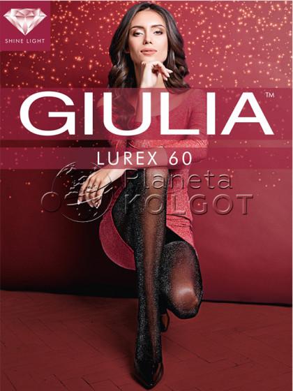 Giulia Lurex 60 Den женские колготки с добавлением металлизированной нити
