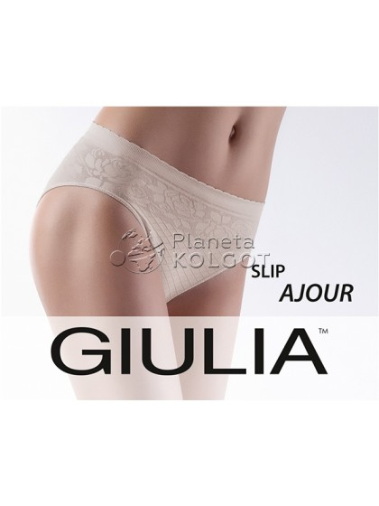 Giulia Ajour Slip Model 1 бесшовные женские трусы модели слипы