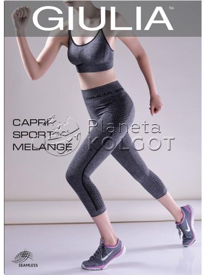 Giulia Capri Sport Melange Model 2 спортивные меланжевые капри