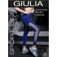 Giulia Leggings Sport Lacing женские бесшовные спортивные лосины (леггинсы) с сетчатой вставкой