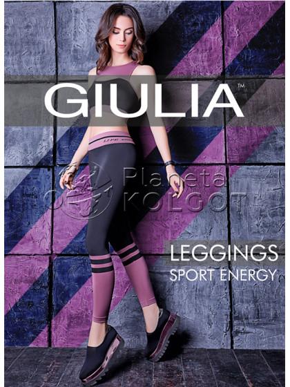 Giulia Leggings Sport Energy женские спортивные леггинсы из микрофибры