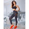 Giulia Leggings Neon Stripe жіночі спортивні легінси без швів