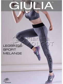 Giulia Leggings Sport Melange Model 2