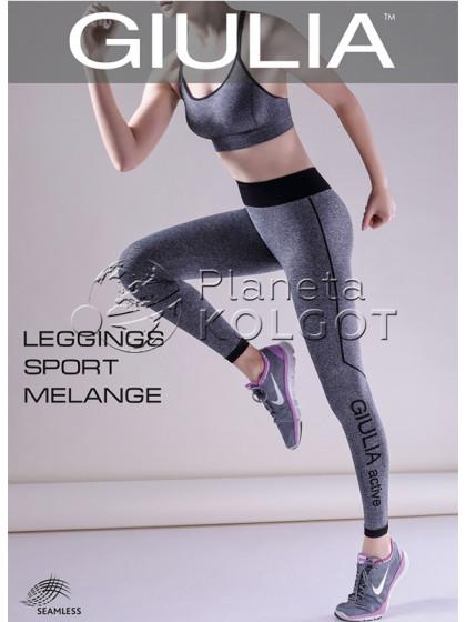 Giulia Leggings Sport Melange Model 2 спортивные меланжевые леггинсы