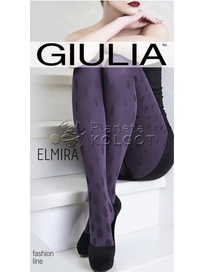Giulia Elmira 100 Den Model 6 женские фантазийные зимние колготки с рисунком