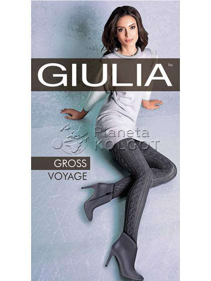 Giulia Gross Voyage 200 Den Model 3 женские теплые колготки с рисунком