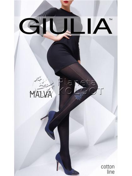 Giulia Malva 150 Den Model 2 теплые женские колготки