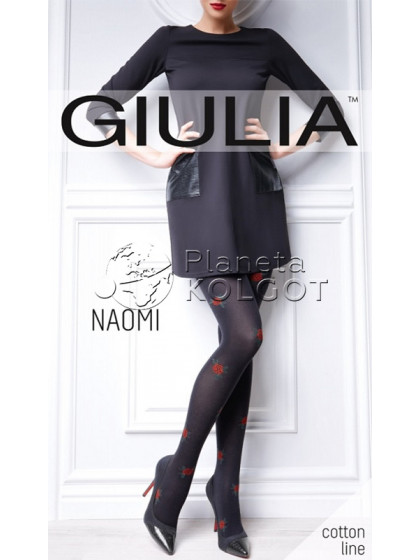 Giulia Naomi 150 Den Model 1 хлопковые колготки