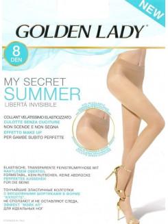 Golden Lady My Secret Summer 8 Den
