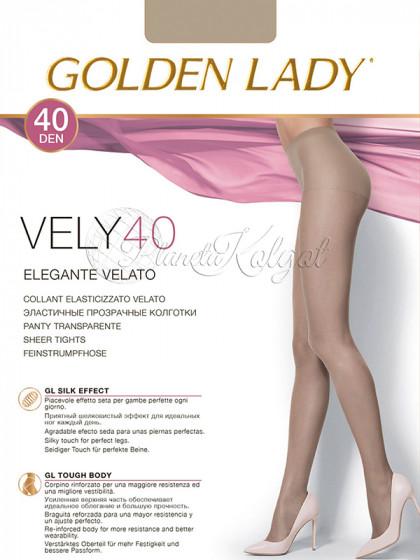 Golden Lady Vely 40 Den женские классические колготки с шортиками