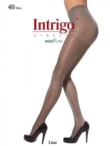Intrigo Litai 40 Den XL колготки с шортиками большого размера