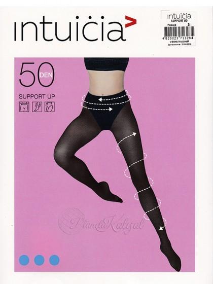 Intuicia Support Up 50 Den женские колготки с моделирующими трусиками
