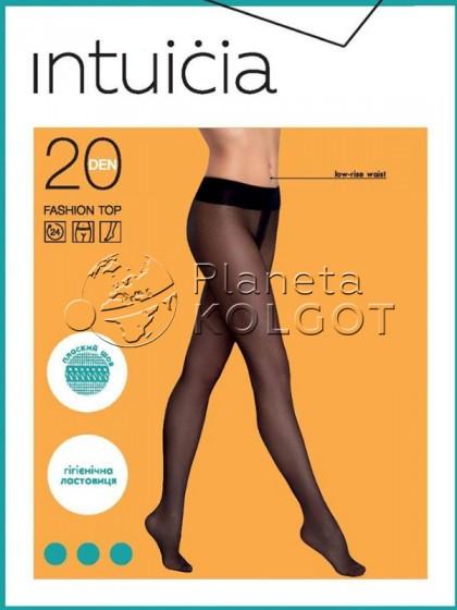 Intuicia Fashion Top 20 Den тонкие колготки на низкой талии
