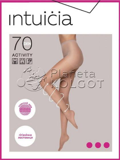 Intuicia Activity 70 Den плотные колготки с поддерживающими шортиками