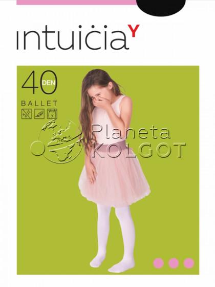 Intuicia Ballet 40 Den детские колготки из микрофибры