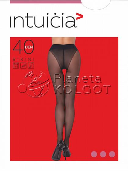 Intuicia Bikini 40 Den колготки с ажурными трусиками