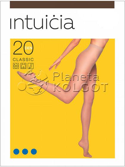 Intuicia Classic 20 Den тонкие колготки с шортиками