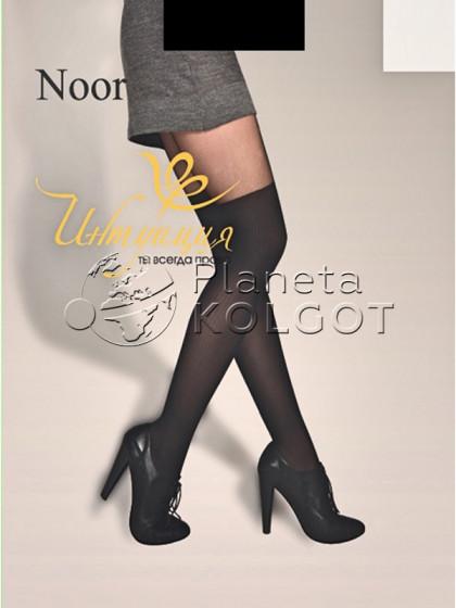 Интуиция Noor 40 Den колготки с имитацией ботфорт