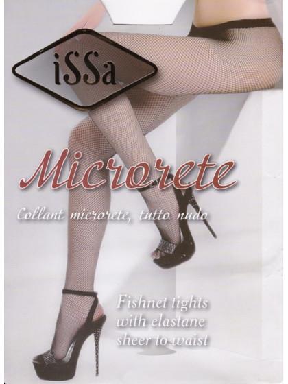 ISSA Plus Microrete фантазийные сетчатые колготки