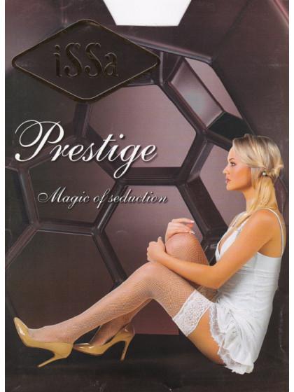 ISSA Plus Reticulum Prestige женские сетчатые чулки