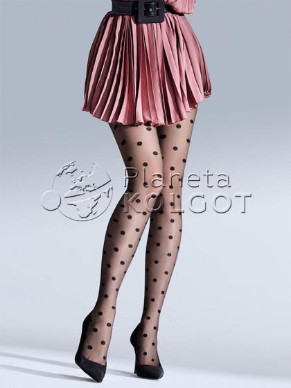 Knittex Circlet 20 Den жіночі тонкі колготки з малюнком