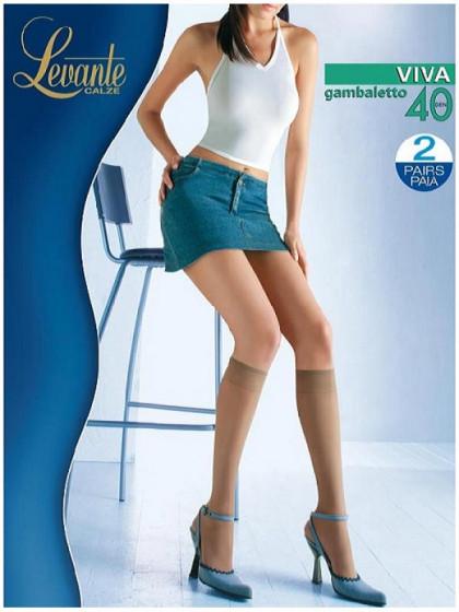 Levante Viva 40 Den Gambaletto капроновые гольфы