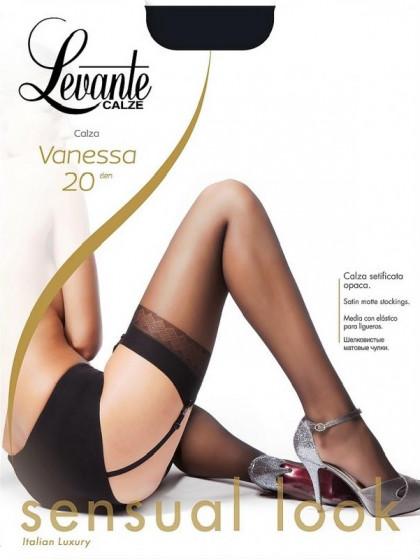 Levante Vanessa 20 Den тонкие классические чулки под пояс