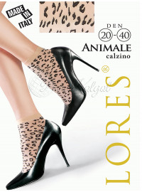 Lores Animale Calzino 20-40 Den