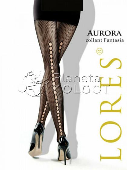 Lores Aurora женские сетчатые колготки со швом