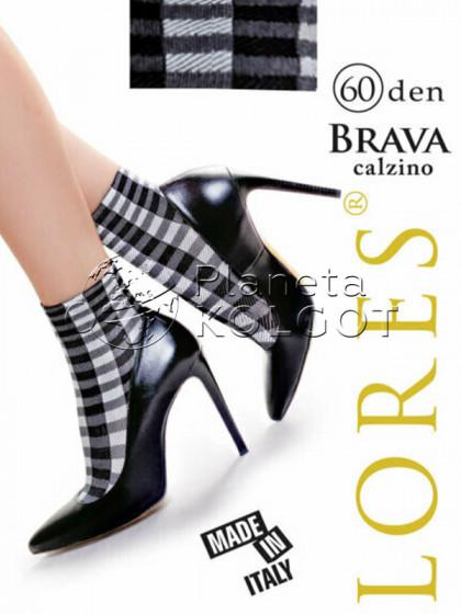 Lores Brava Calzino женские носочки с рисунком