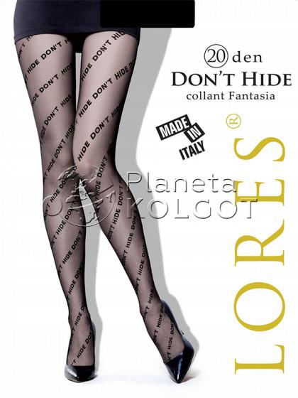 Lores Don't Hide женские стильные тонкие колготки