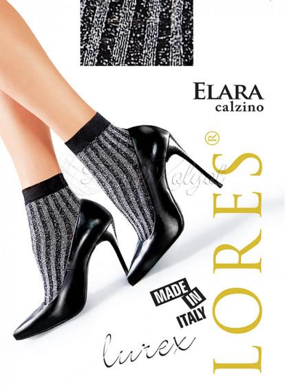 Lores Elara Calzino женские фантазийные носочки с люрексом