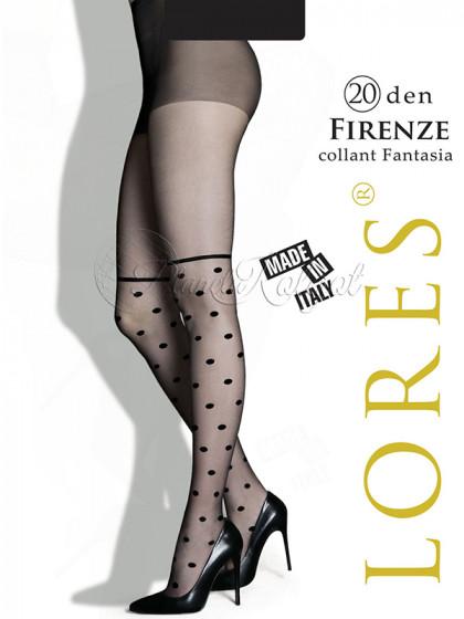 Lores Firenze 20 Den женские фантазийные колготки с имитацией ботфортов
