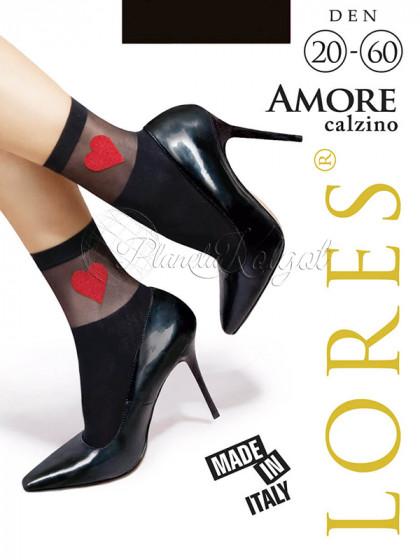 Lores Amore Calzino женские капроновые фантазийные носочки