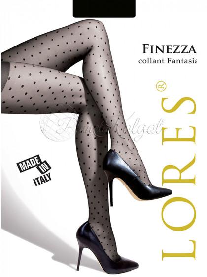 """Lores Finezza женские фантазийные колготки с узором """"в мелкий горошек"""""""