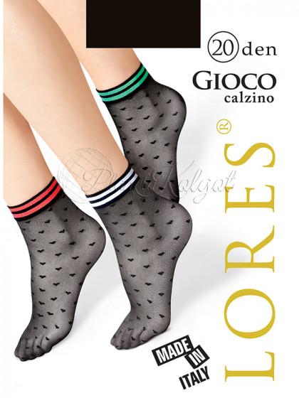Lores Gioco Calzino женские фантазийные носочки с узором