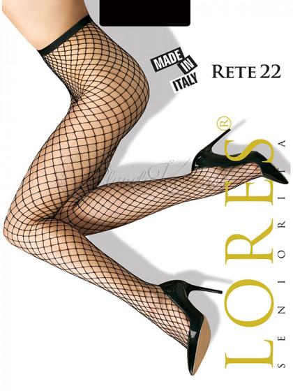 Lores Rete 22 женские сетчатые колготки