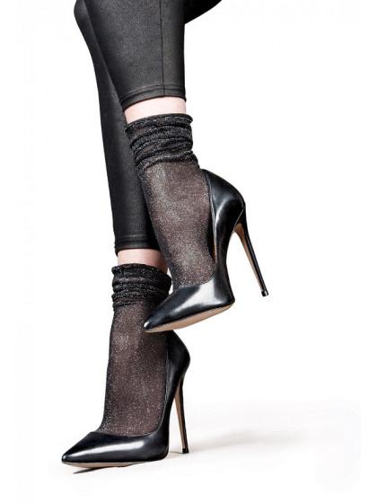 Lores Luce Calzino капроновые носки с люрексом