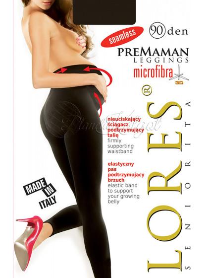 Lores Premaman 90 Den женские бесшовные лосины для беременных
