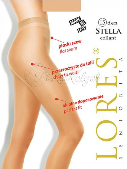 Lores Stella 15 Den женские тончайшие колготки без шорт