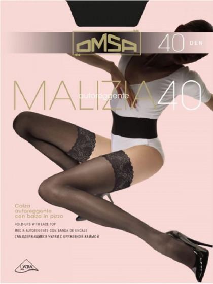 Omsa Malizia 40 Den классические женские чулки средней плотности