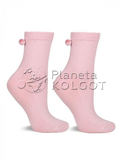 Marilyn SC M25 женские носки из высококачественного хлопка с добавлением люрекса