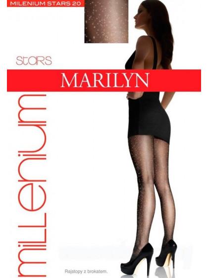 Marilyn Milenium Stars 20 Den женские фантазийные колготки с люрексом