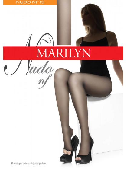 Marilyn Nudo NF 15 Den классические колготки для женщин с открытыми пальцами